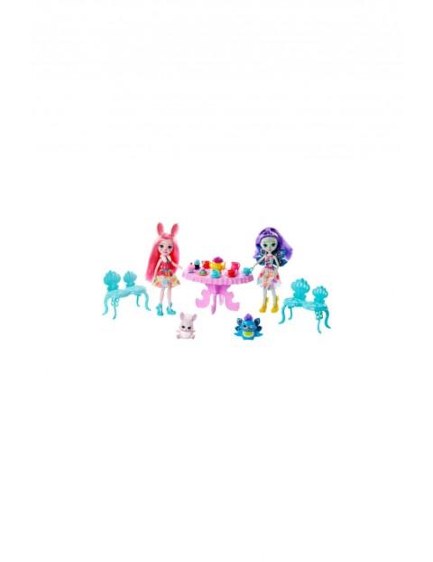 Zestaw Spotkanie przy herbatce + lalki Bree Bunny i Patter Peacock, figurki zwierzątek wiek 4+