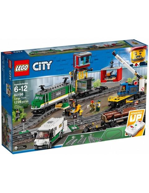Klocki City Pociąg towarowy 1226el