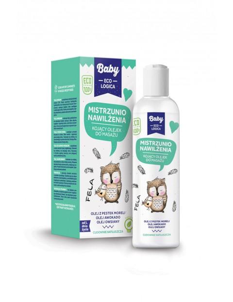 MISTRZUNIO NAWILŻENIA Kojący olejek do masażu Baby Ecologica - 150 ml