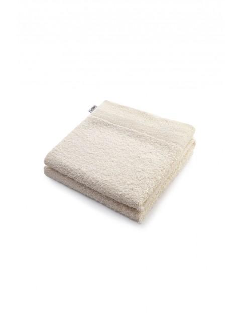 Bawełniany ręcznik kąpielowy - ecru - 70x140 cm
