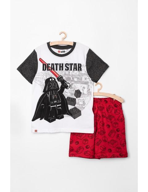 Piżama chłopięca LEGO Star Wars biało-czerwona