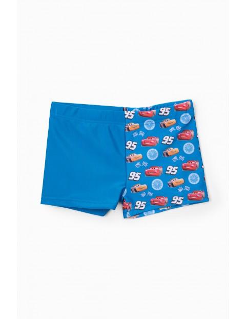 Szorty chłopięce kąpielowe Auta - niebieski