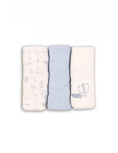 Pieluchy niemowlęce niebieskie 3pak