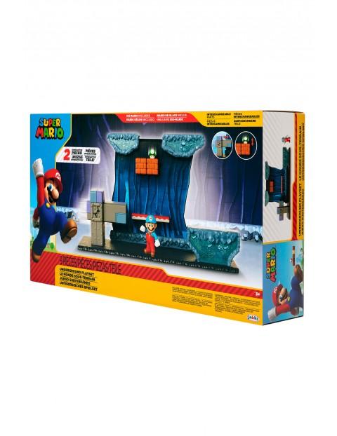 Super Mario Zestaw Underground z 6,5 cm figurką