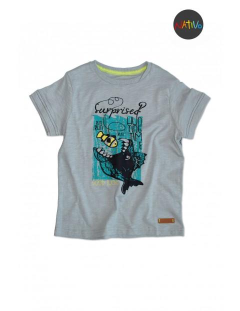 T-shirt chłopięcy 1I30A8
