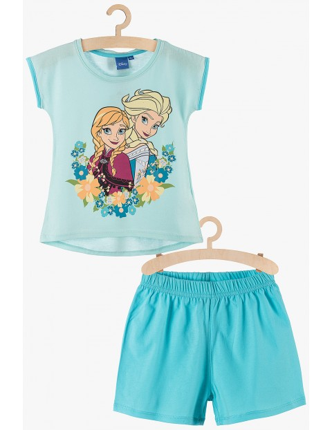 Pidżama dziewczęca Frozen niebieska