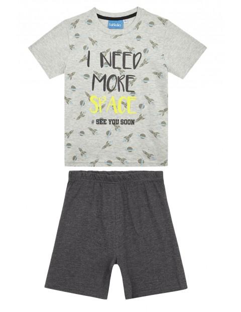 Piżama chłopięca dwuczęściowa- koszulka i spodenki