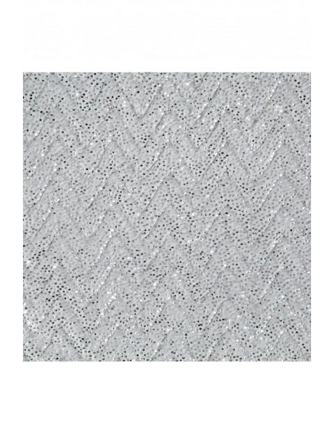 Koc z miękkiego mikroflano - jasnoszary - 70x160cm