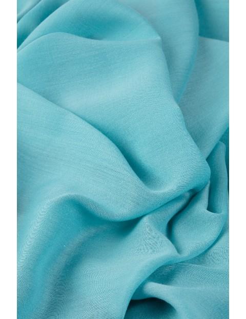 Elegancka apaszka damska- niebieska