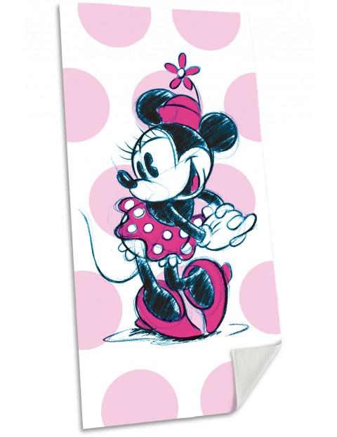 Myszka Minnie ręcznik plażowy 75x150 cm