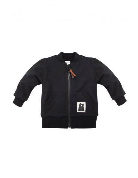 Bluza rozpinana dla niemowlak Bears Club czarna
