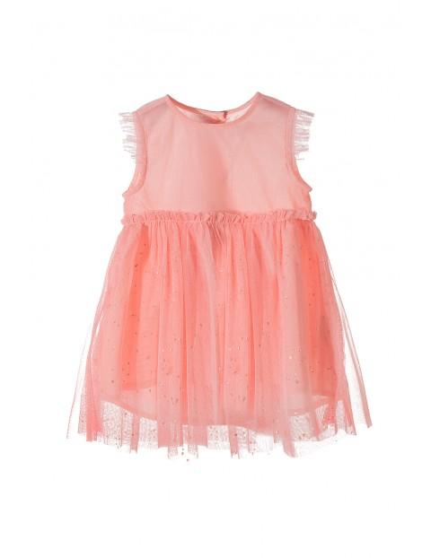 Tiulowa sukienka dla niemowlaka