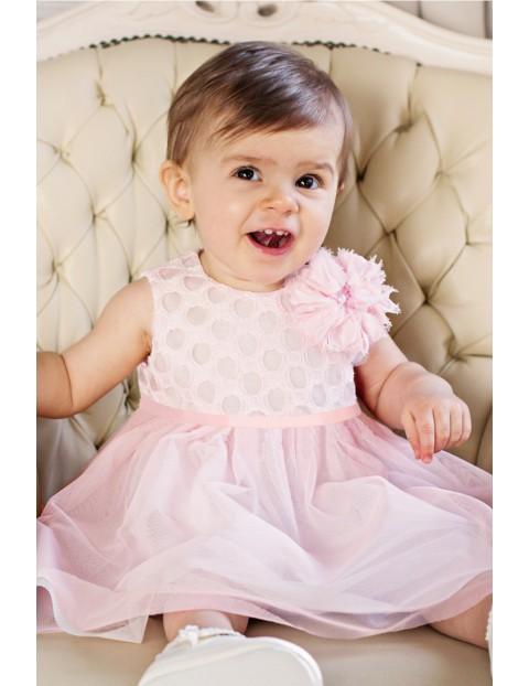 Elegancka sukienka niemowlęca dla dziewczynki