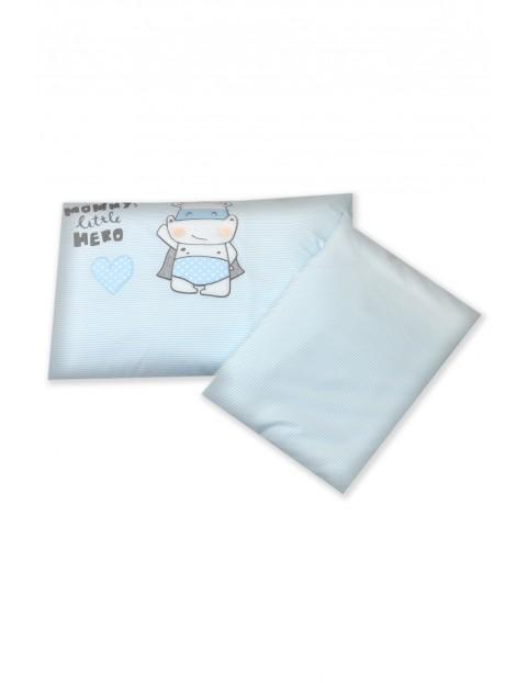 Pościel dla dzieci Amy 2-elementowa Hero Blue 135x100cm