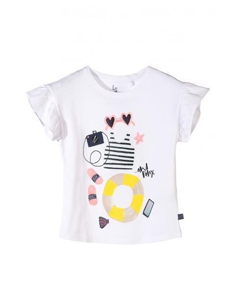 Koszulka dziewczęca z krótkim rękawem-100% bawełna