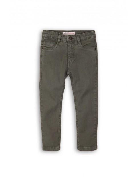 Spodnie chłopięce jeansowe- szare