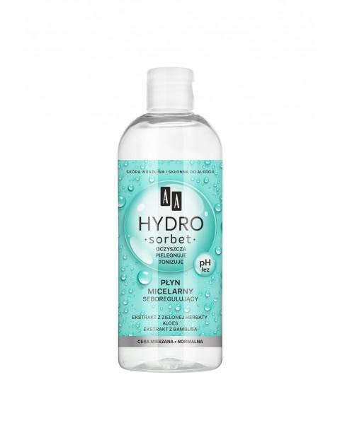 AA Hydro Sorbet matujący płyn micelarny cera mieszana 400 ml