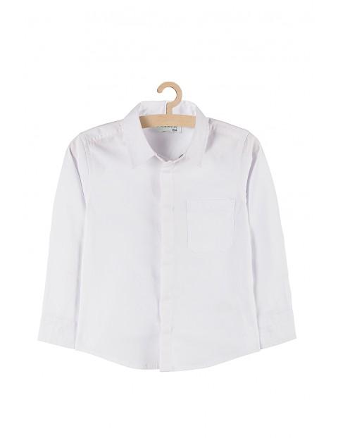 Koszula chłopięca na specjalne okazje - biała