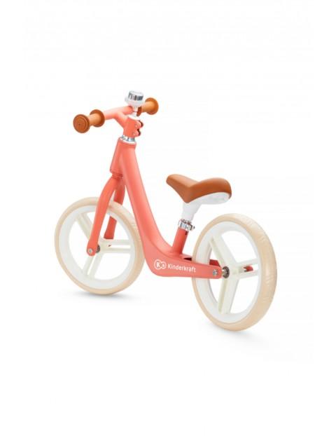 Rowerek biegowy Kinderkraft FLY PLUS koralowy