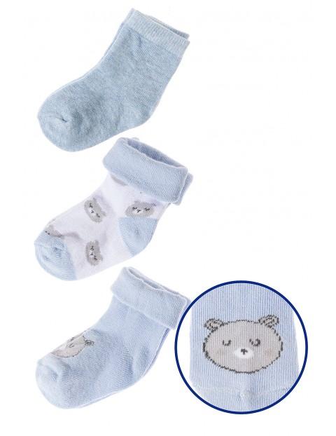 Skarpety niemowlęce 3pak 5V3513