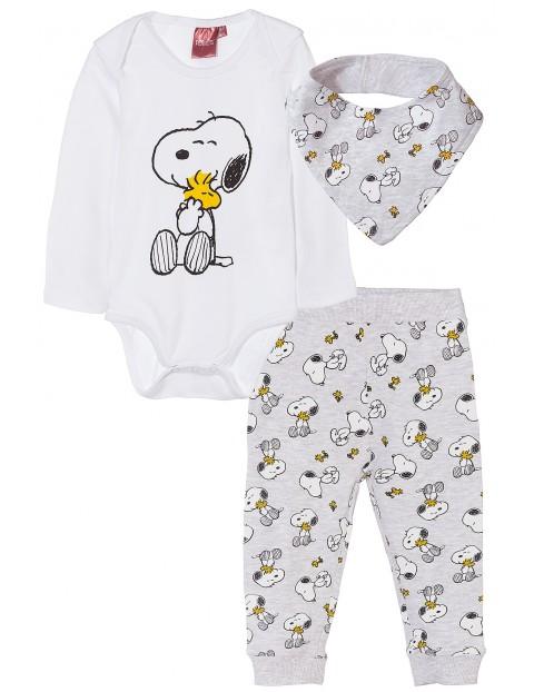 Komplet niemowlęcy Snoopy 5P35AN