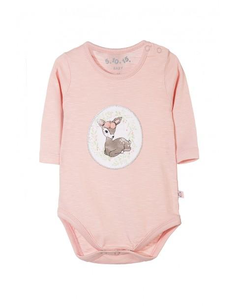 Body bawełniane niemowlęce 5T3529