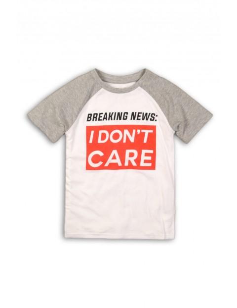 Koszulka chłopięca z krótkim rękawem