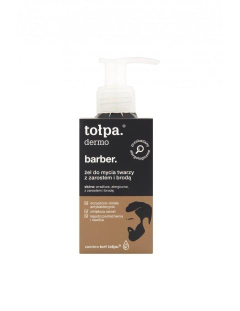 Tołpa dermo barber Żel do mycia twarzy z zarostem i brodą 150 ml