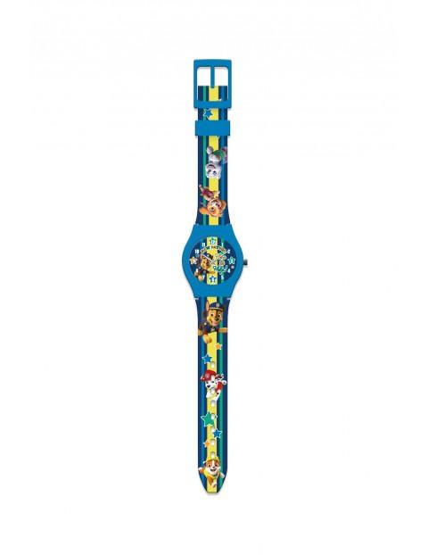 Zegarek analogowy dziecięcy  w metalowym opakowaniu -  Psi Patrol
