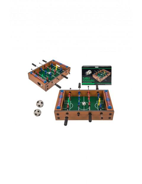Drewniany stół do gry - piłkarzyki - 34x20,5x5,8 cm