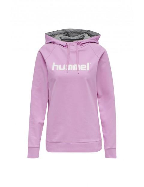 Bluza dresowa damska z kapturem Hummel