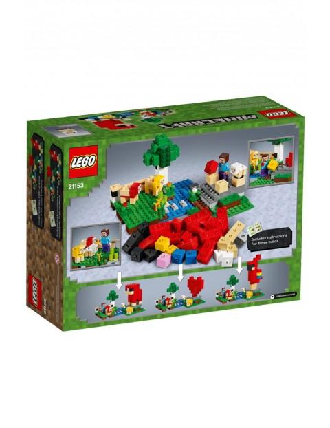 Lego Minecraft-Hodowla owiec-260el wiek 7+