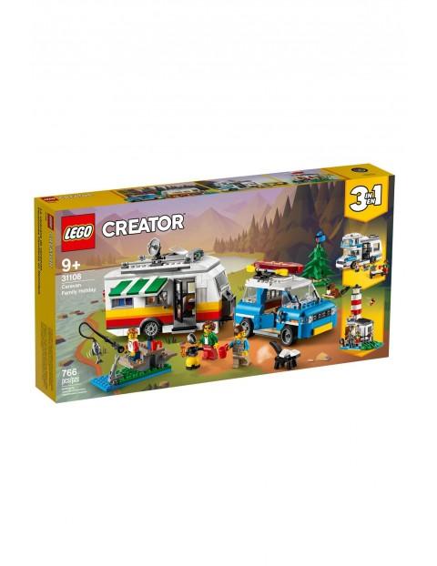 Lego Creator - Wakacyjny kemping z rodziną 3w1 - 766 elementów wiek 9+