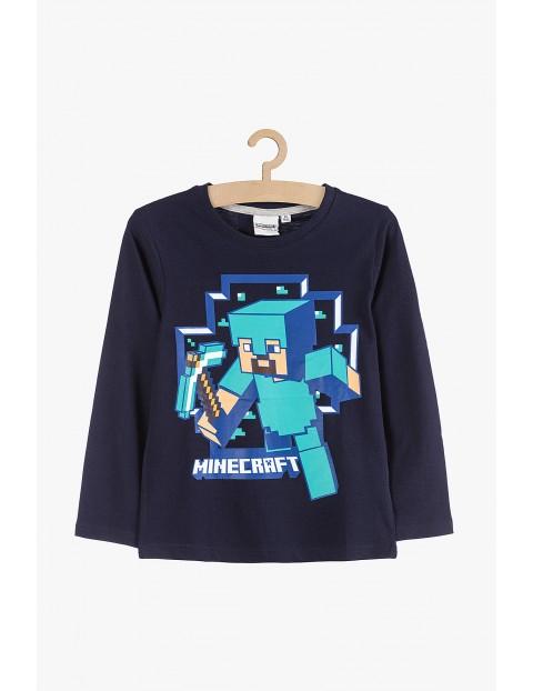 Bluzka z długim rekawem- Minecraft