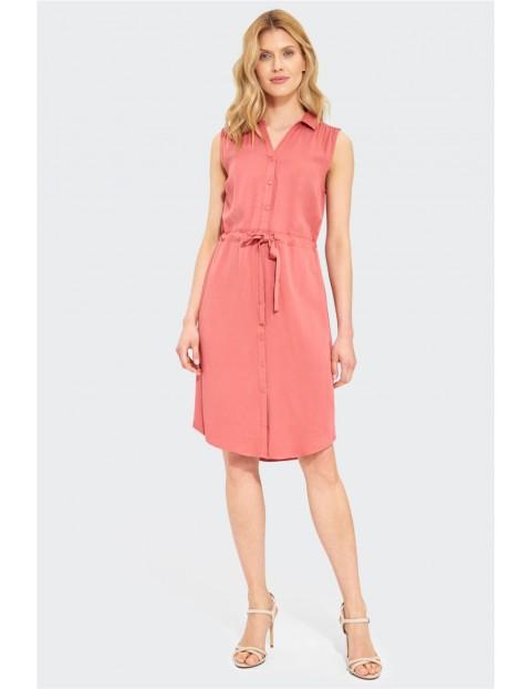 Sukienka z lyocellu typu szmizjerka