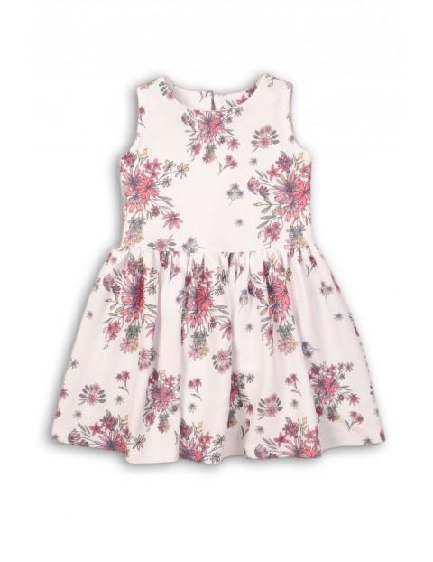 6fa0b20e44 Sukienka dziewczęca w kwiaty-ubrania na specjalne okazje