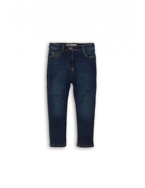 Spodnie dziewczęce jeansowe rozm 122/128