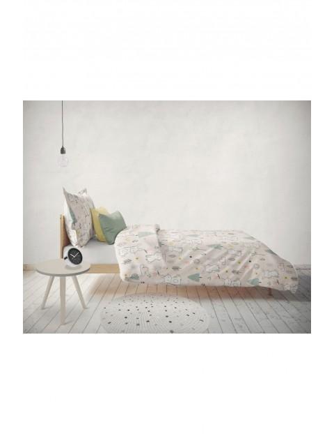 Pościel bawełniana dla dziewczynki Króliczki - 160x200cm