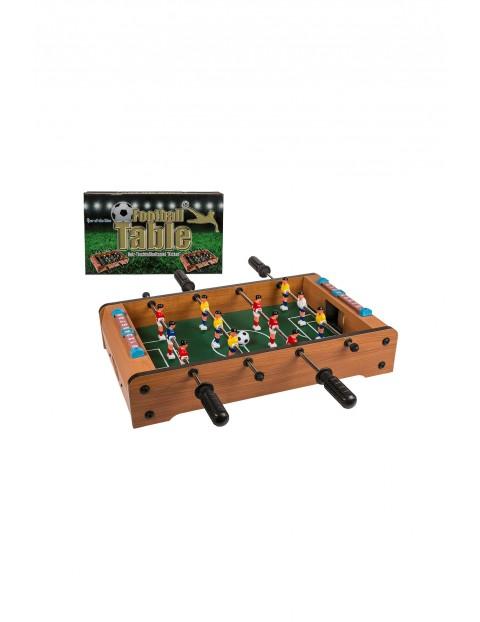Drewniany stół do gry - piłkarzyki - 51x31x7,5 cm