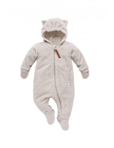Kombinezon niemowlęcy Nice Day szary