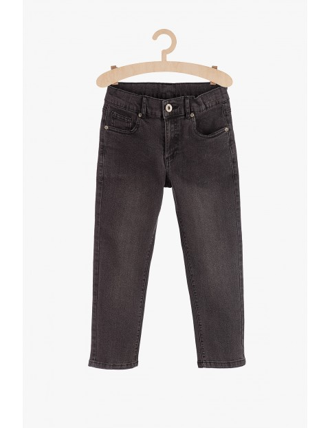 Spodnie jeansowe dla chłopca- czarne