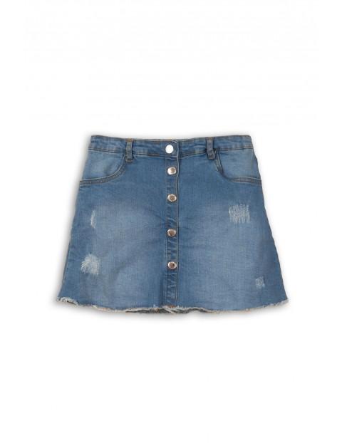 Spódnica jeansowa dziewczęca niebieska