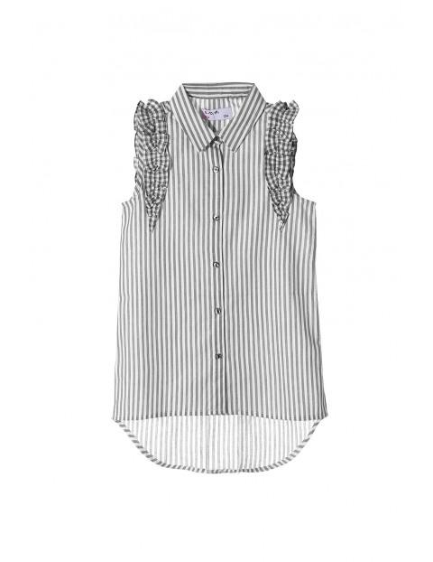 Koszula dziewczęca bez rękawów 3J3412