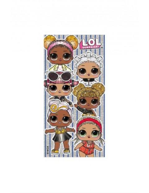 Ręcznik plażowy L.O.L. Surprice dziewczęcy 70x140cm