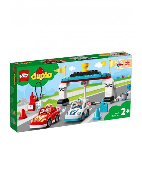 LEGO® DUPLO® Town Samochody wyścigowe 10947- 44 elementy, wiek 2+