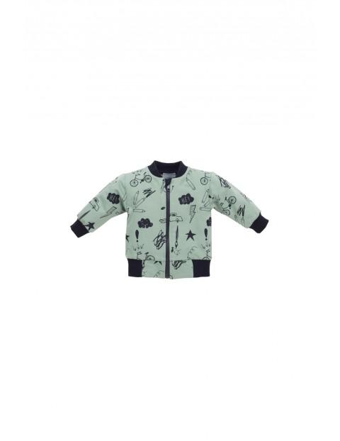 Bluza dresowa rozpinana 5F35AH