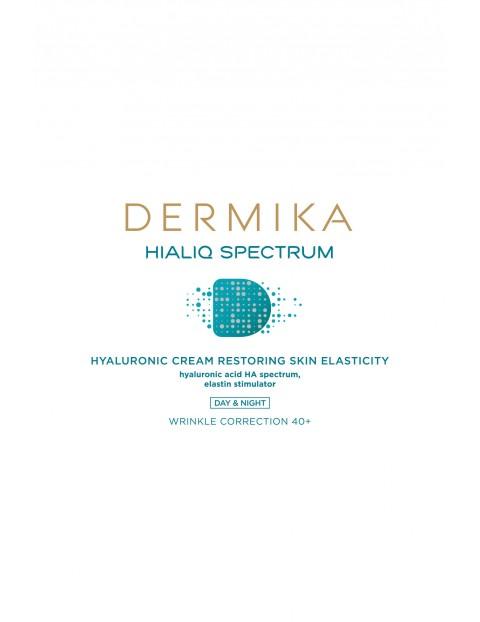 DERMIKA Hialiq Spectrum Krem uelastyczniający 40+  na dzień i na noc - 50 ml
