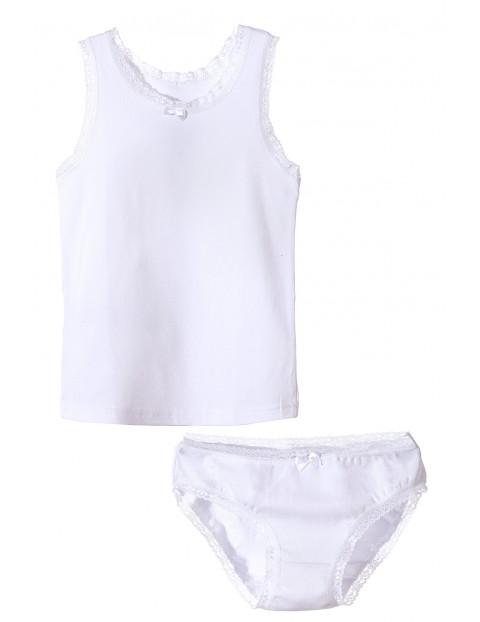 Bielizna dziewczęca biała 3W3416