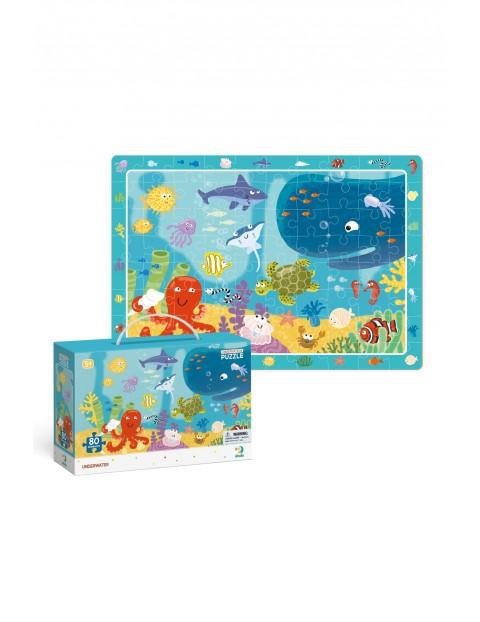 Puzzle Obserwacyjne Ocean - 80 elementów
