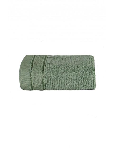Bawełniane ręczniki w kolorze zielonym 2-pack 30 x 50 cm